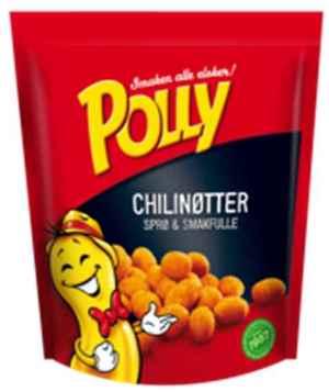 Prøv også Polly chilinøtter.