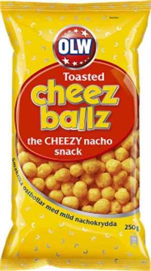 Prøv også Cheez ballz.
