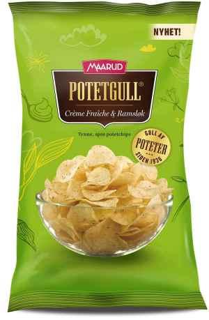 Prøv også Maarud Potetgull® Creme Fraiche og ramsløk.