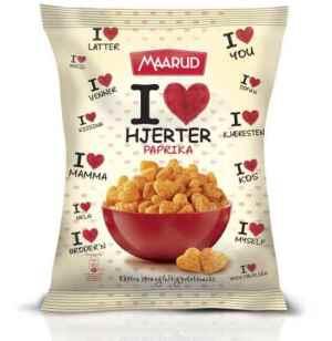 Prøv også Maarud I Love hjerter paprika.