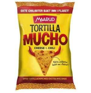 Prøv også Maarud Tortilla Mucho Cheese and Chili.