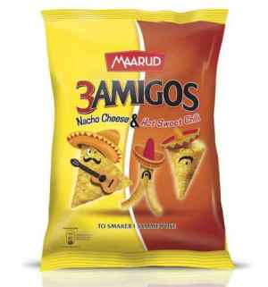 Prøv også Maarud 3 amigos.