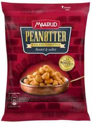 Prøv også Maarud Peanøtter ovnsrøstet og saltet.