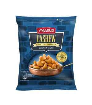 Prøv også Maarud cashew røstet og saltet.