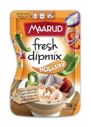 Prøv også Maarud fresh dipmix holiday.