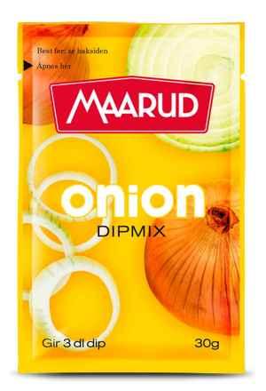 Prøv også Maarud Onion Dipmix.