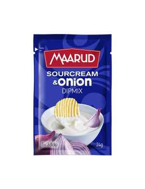 Prøv også Maarud Dipmix Sourcream og Onion.