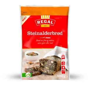 Prøv også Regal steinalderbrød.