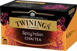 Prøv også Twinings Spicy Indian Chai.