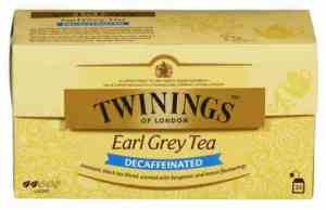Prøv også Twinings Earl grey koffeinfri.