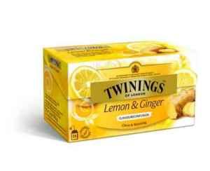 Prøv også Twinings Sitron & Ingefær te.