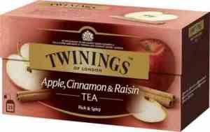 Prøv også Twinings Eple, Kanel og Rosin.