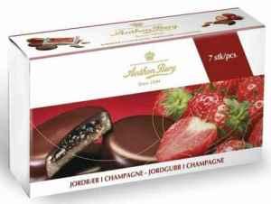 Prøv også Anthon Berg Jordbær i Champagne.