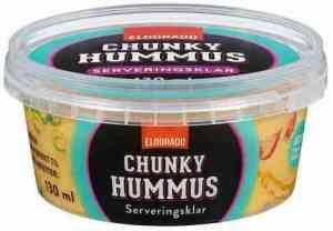 Prøv også Eldorado Chunky hummus.