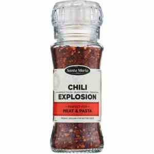 Prøv også Santa maria chili explosion.