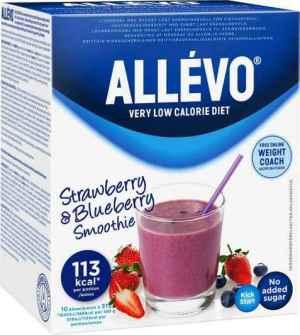 Prøv også Allevo VLCD jordbær og blåbær smoothie.