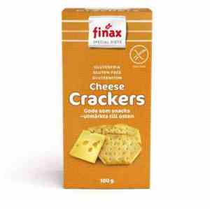 Prøv også Finax Glutenfria cheese crackers.