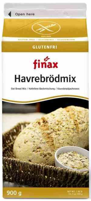 Prøv også Finax glutenfri havrebrødmix.