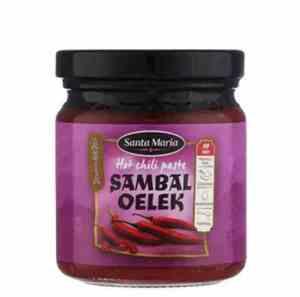 Prøv også Santa Maria sambal oelek.