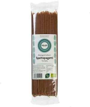 Prøv også Helios speltspaghetti fullkorn.