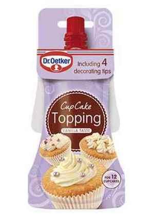 Prøv også DrOetker Cupcake Topping med vaniljesmak.