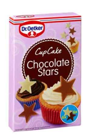 Prøv også DrOetker Cupcake Chocolate Stars.