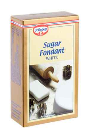 Prøv også DrOetker hvit Sukkerfondant.