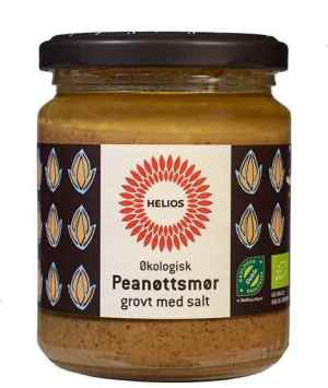 Prøv også Helios Peanøttsmør, grovt med salt.