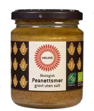 Prøv også Helios Peanøttsmør, grovt uten salt.
