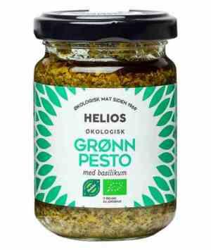 Prøv også Helios Grønn pesto med basilikum.