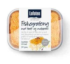 Prøv også Lofoten Fiskegrateng med torsk og laks.