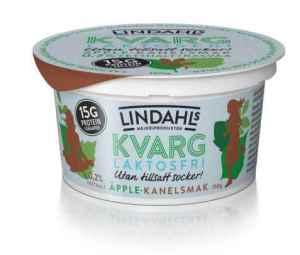 Prøv også Lindahls laktosefri kvarg med eple og kanelsmak.