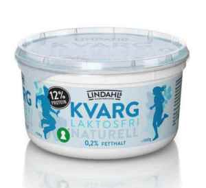Prøv også Lindahls laktosefri kvarg naturell.