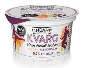 Prøv også Lindahls kvarg med fersken og passionsmak.