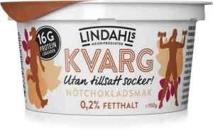 Prøv også Lindahls kvarg med nøttesjokoladesmak.