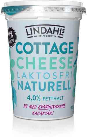 Prøv også Lindahls cottage cheese naturell laktosfri.