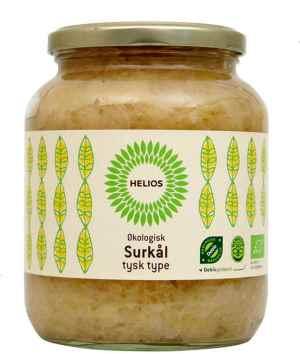Prøv også Helios Surkål, tysk type, med einerbær.