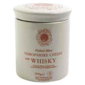 Prøv også CBC Shropshire blåmuggost m/whisky PDO.
