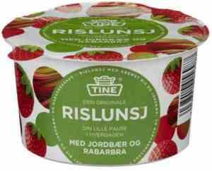 Prøv også Tine Rislunsj med jordbær og rabarbra.