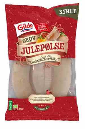 Prøv også Gilde grov julepølse.