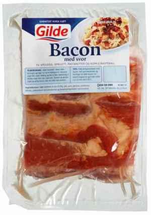 Prøv også Gilde Bacon med svor stk økonomipakke.