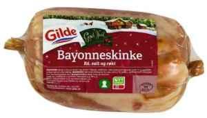 Prøv også Gilde Bayonneskinke, rå, salt og røkt.