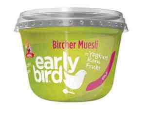 Prøv også Synnøve Early Bird Bircher Müsli med yoghurt, eple og havre..
