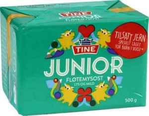 Prøv også Tine Junior Fløtemysost.