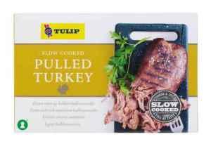 Prøv også Tulip Pulled Turkey.