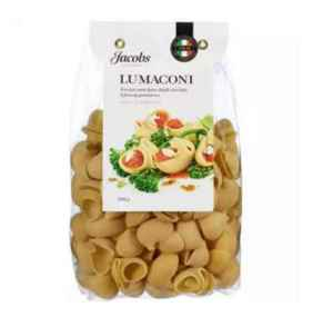 Prøv også Jacobs Utvalgte pasta lumaconi.