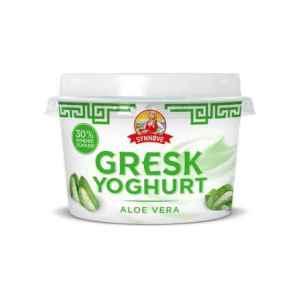 Prøv også Synnøve gresk yoghurt Aloe vera.