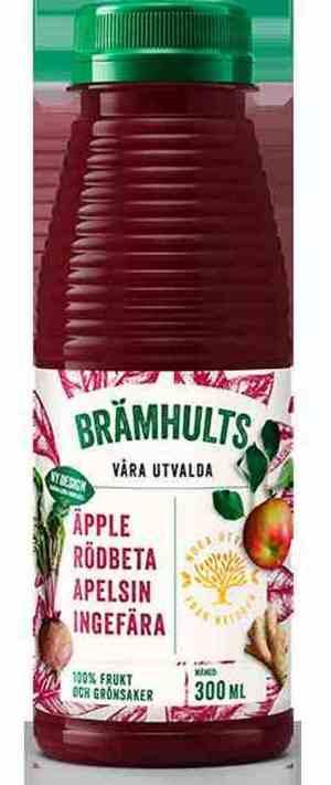 Prøv også Bramhult rødbeter, eple og ingefær.