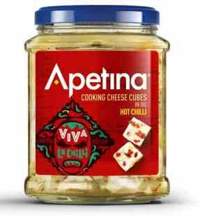 Prøv også Arla Apetina hot chili.