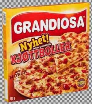 Prøv også Grandiosa kjøttboller.